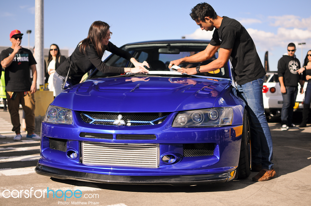 Michael Zomaya Evo 9 Ellie and Adam The-Lowdown