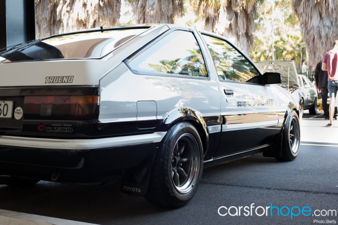 Festival of 86: Adrian's Initial-D-inspired AE86