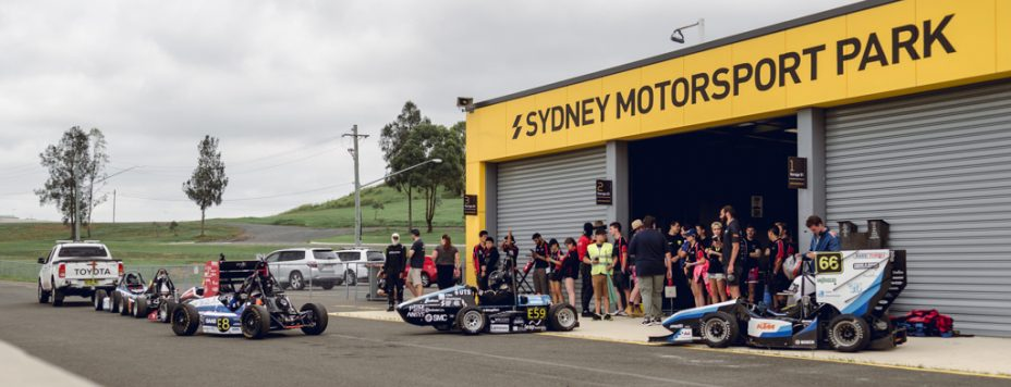 Sydney Motorsport Park Cars For Hope Formula SAE FSAE